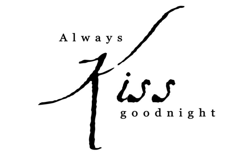 ALWAYS KISS GOODNIGHT - product images  of