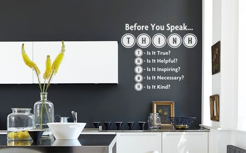 BEFORE,YOU,SPEAK...,home, wall art, decor, family, vinyl, design, fun, love, stickyedge, stickyedge.co.uk, HEAVEN,