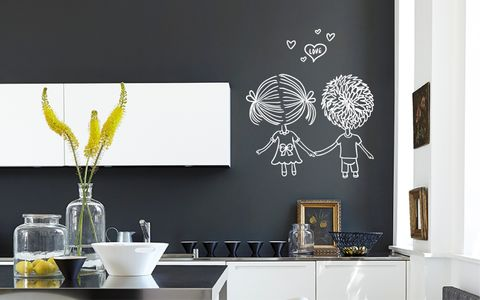 BOY,GIRL,LOVE,home, wall art, decor, family, vinyl, design, fun, love, stickyedge, stickyedge.co.uk, HEAVEN,