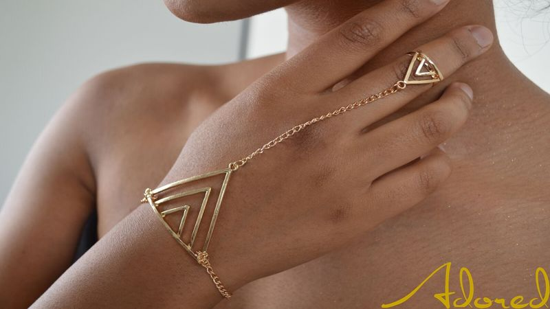 Triangle Hand Chain - product images  of