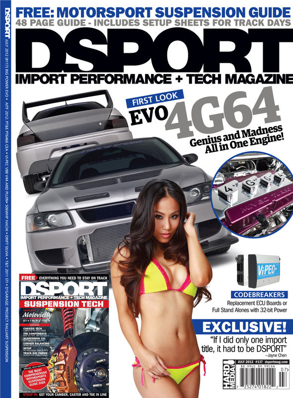 DSPORT Magazine JULY 2012 ISSUE #117 - product images