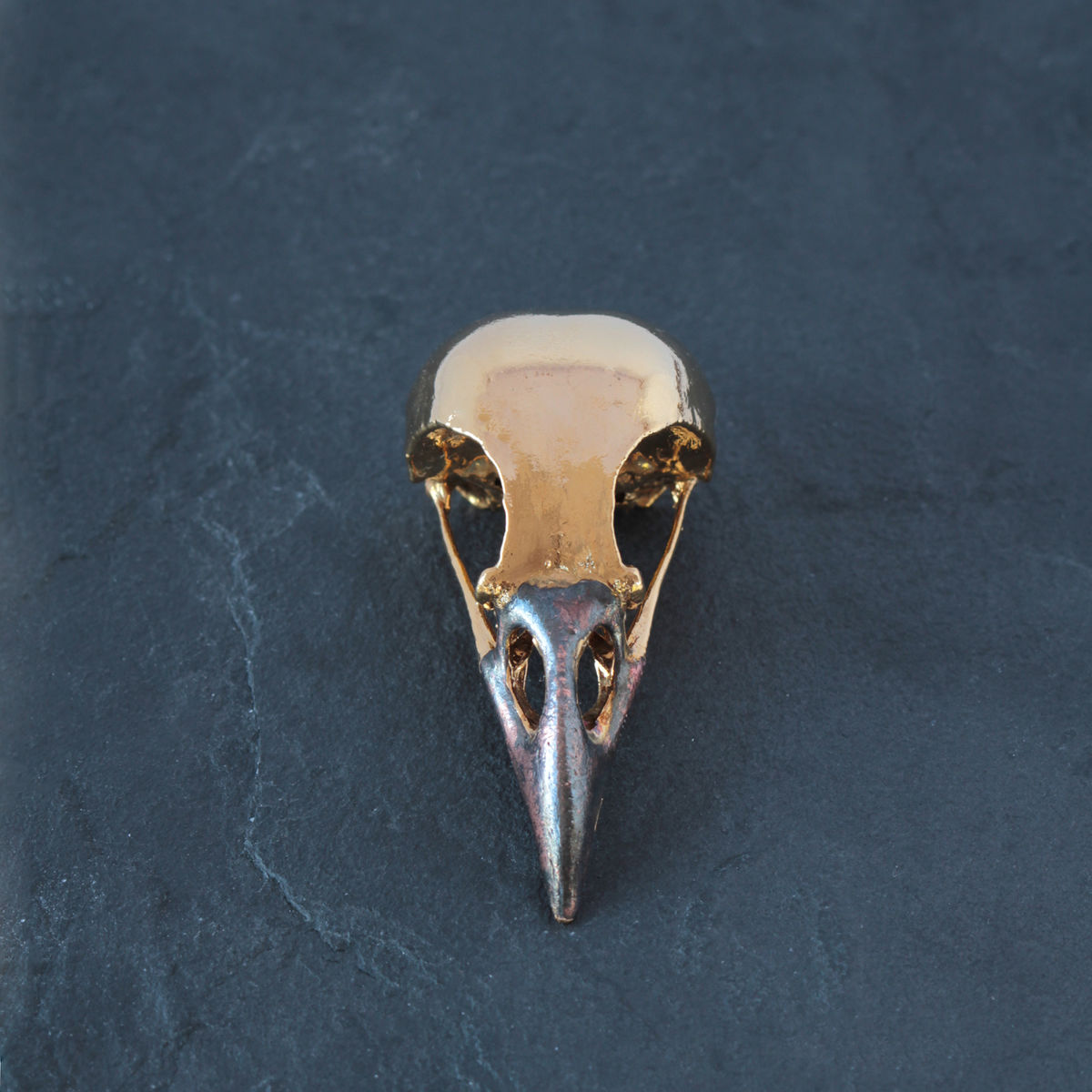Yellow gold Magpie Skull  - product images  of