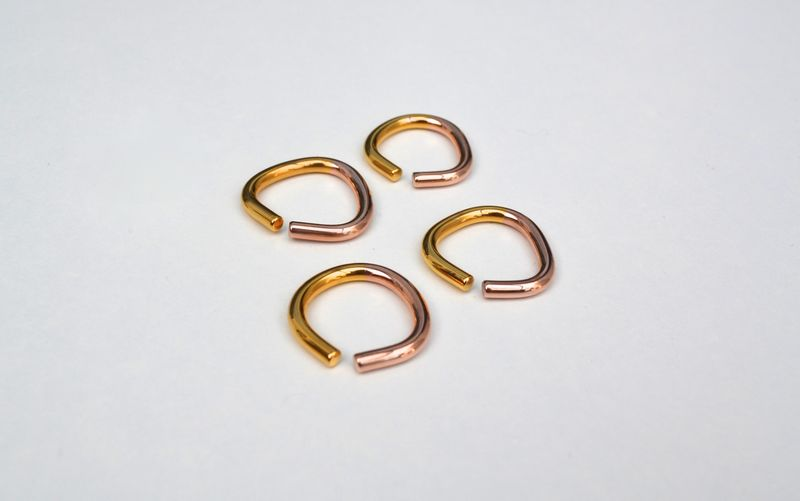 Vice Ring 2Tone Gold  - product images  of