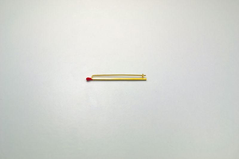 Matchstick Brooch  - product images  of