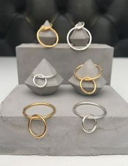 Ring,ring,gold, silver, gold plated, sterling silver, rings, ring, delicate, minimalist, simple, thin, lightweight