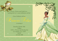 Princess,Tiana,Invitations,DIGITAL,DOWNLOAD,Paper_Goods,Disney,Princess_Tiana,frog,Princess_invites,Disney_invitations,Pixar_invites,Lemonberry,Lemonberry_Boutique,Bonnie_Haylock,Customized_invites