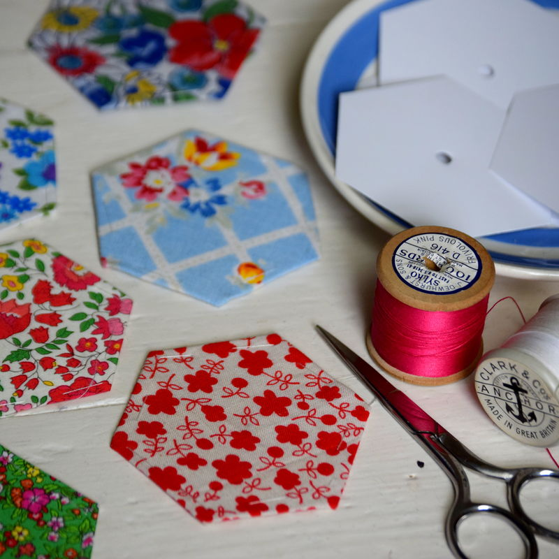 English Paper Piecing Workshop - Leah Halliday