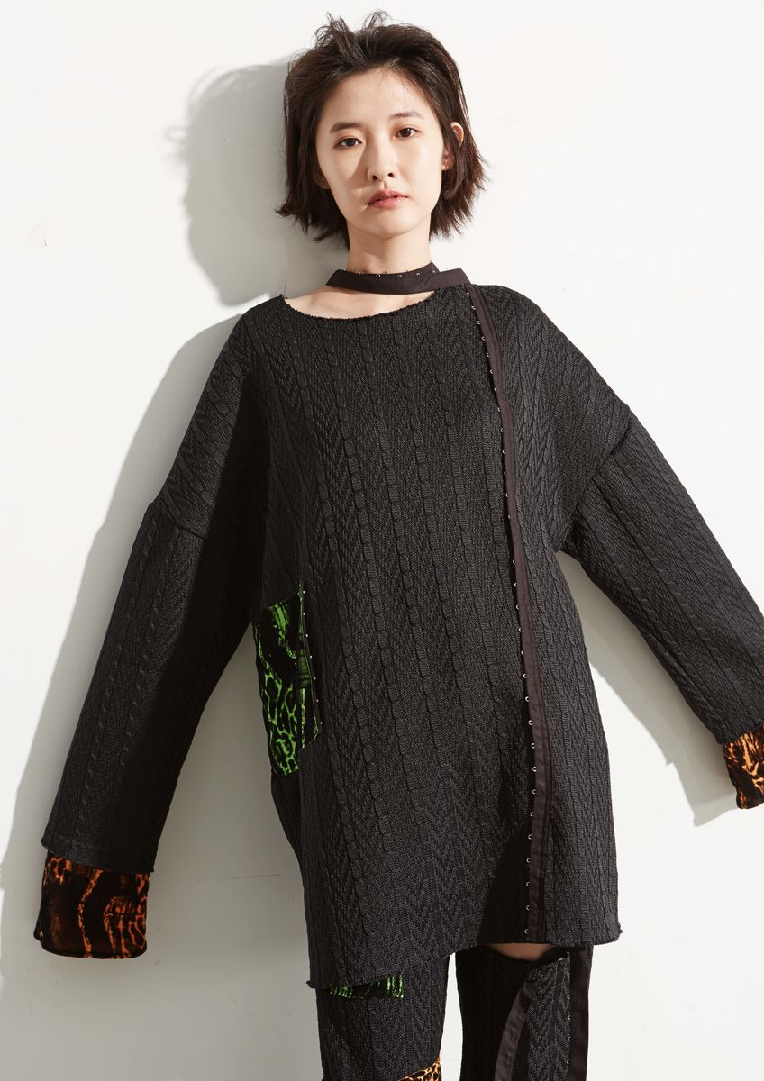 KNITTED OVERSIZE TOP - product images  of