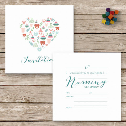 Naming,Ceremony,Invitations,Naming Ceremony Invitations