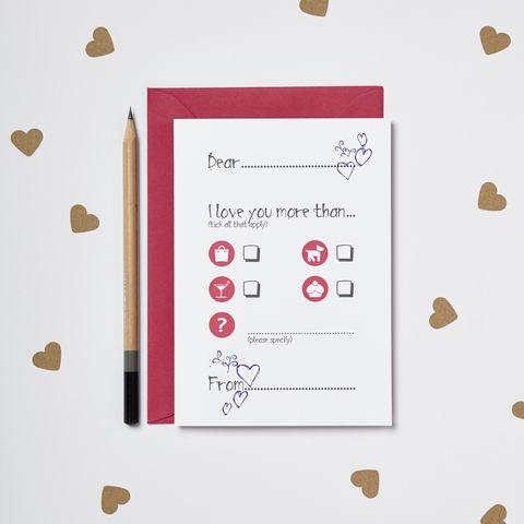 'Love,You,More,Than…',Valentine's,Card,Valentines Card