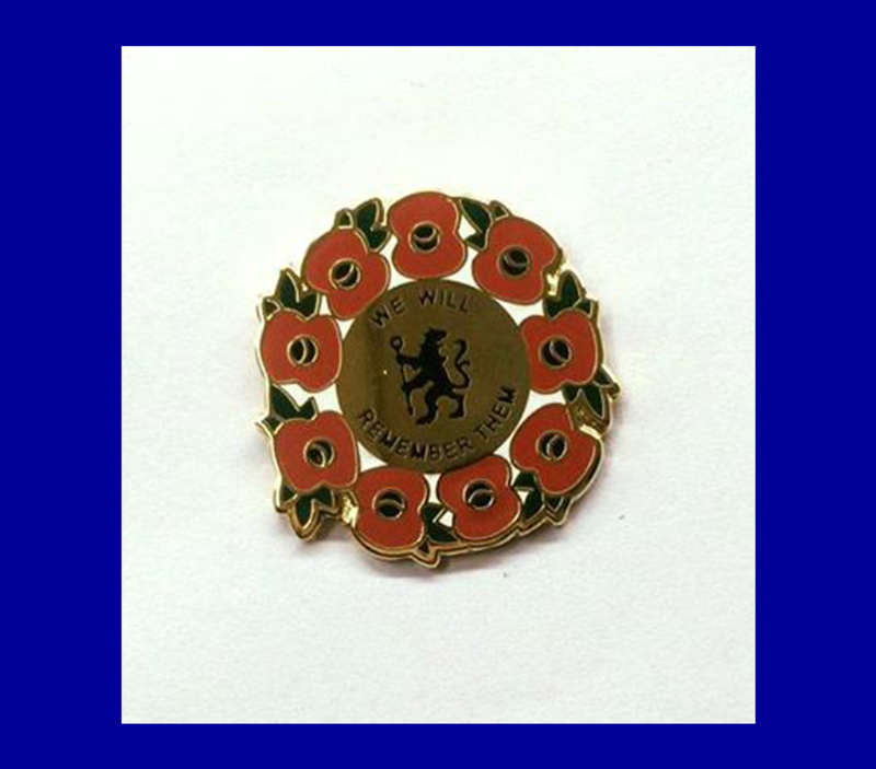 'We Will Remember Them' Pin Badge - product image