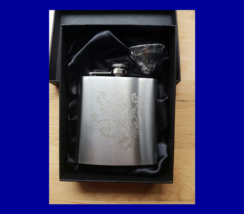 'Lion',6oz,Hip,Flask,Chelsea FC Christmas Gift Xmas gift hip flask