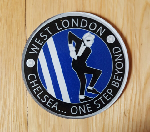'SKA',DRINKS,COASTER,CHELSEA FC SOUVENIR COASTER WEST LONDON SKA
