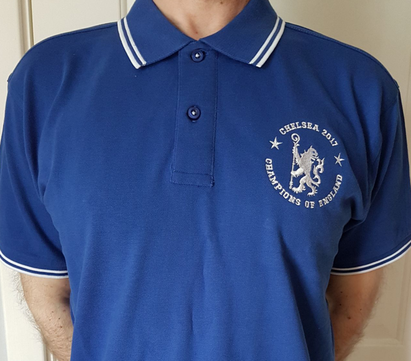 'Champions of England' - Piped polo (Adults only) - product images  of