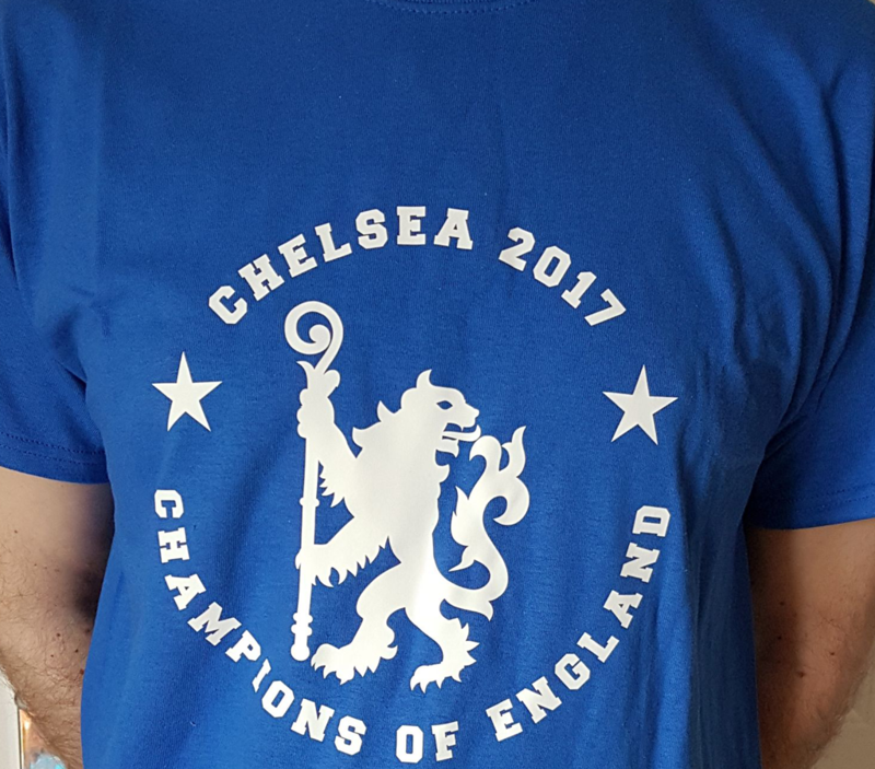 'Champions of England' Tee - Shirts     (Adults and Kids)       - product image