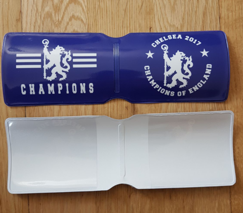 'CHAMPIONS,2017',Card,Holder,Chelsea FC card holder souvenir gift present