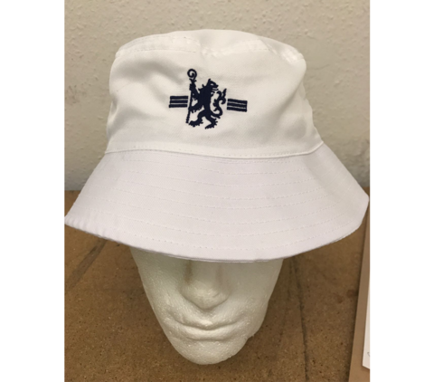 White,Bucket,Hat,Chelsea FC bucket hat