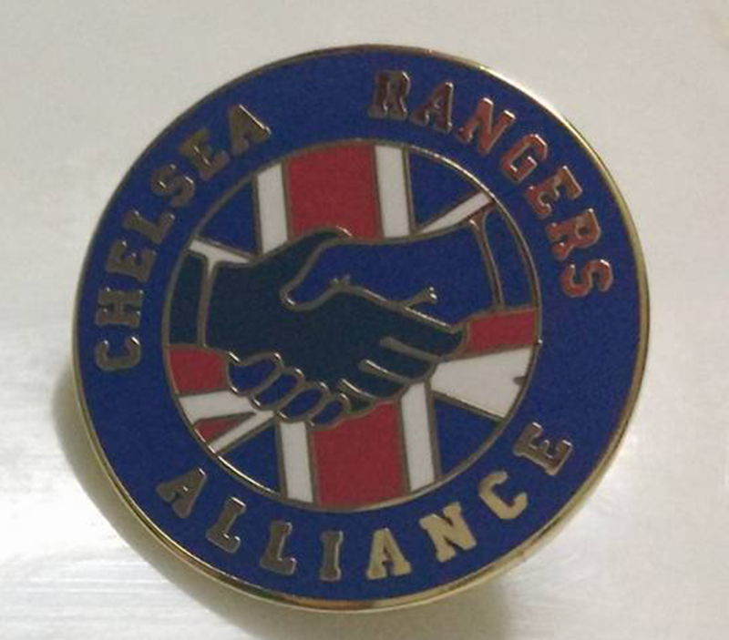 'Alliance' GOLD Badge pin - product images  of