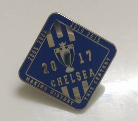 'Making,History',Badge,pin,Chelsea FC enamel badge pin making history this century souvenir PL