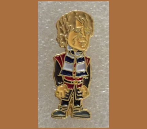 'Tyrion',Badge,pin,Chelsea FC enamel badge pin blue and white Tyrion Lannister Game of Thrones GOT