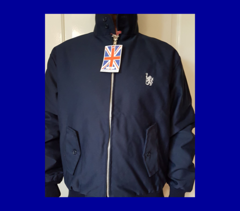Harrington,Jacket(Navy)