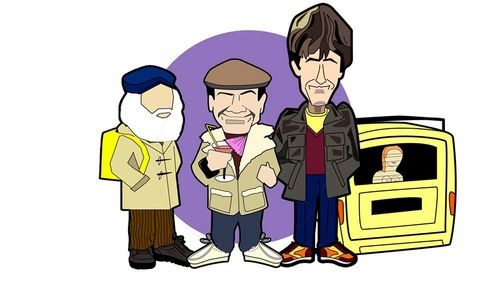 Only,Fools,&,Horses...,delboy, rodney, uncle albert, only fools and horses , aguycalledminty , clarks , walsh
