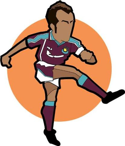 Di,canio,print.......,di canio, italian , west ham , football ,sheffield wednesday, character , legend, aguycalledminty