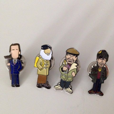 Only,fools,and,horses....,pin,set.....,only fools and horses, aguycalledminty, pin badge , legend , football  ,italy , legend