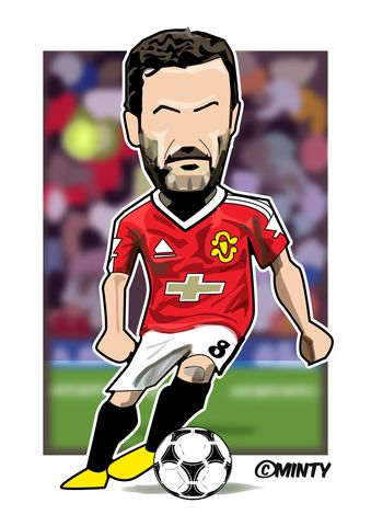 Mata,Print........,manchester united , george Best, football , french , illustration , design , artwork , love