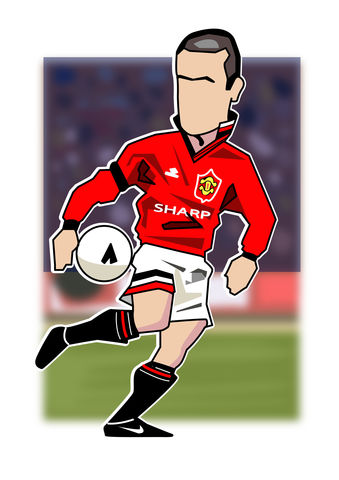 Cantona.3,Print........,manchester united , george Best, football , french , illustration , design , artwork , love