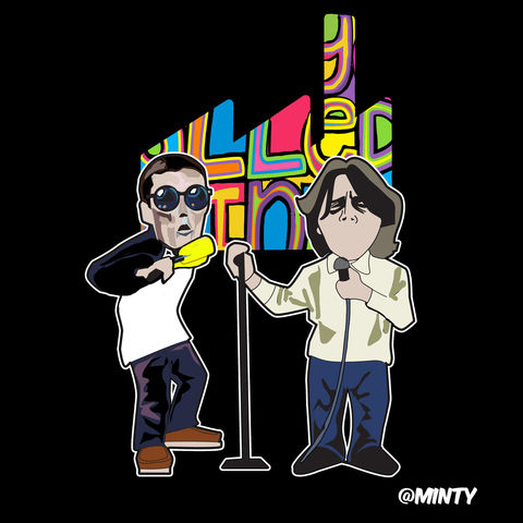 Happy,Mondays,Pin,Set,PREORDER,(due,MID,FEB)..,Happy mondays , factory records , shaun ryder , bez , music , manchester ,  1980s , artwork , illustration , vector , design