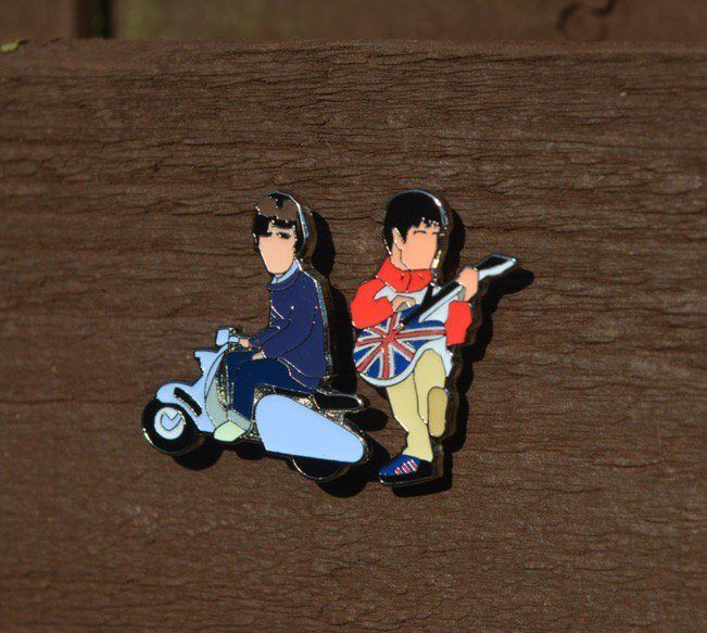 Noel & Liam pin badge ........ - product images  of