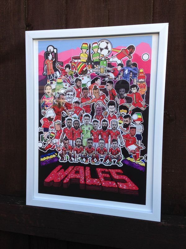 Wales Sgt Paper Inspired  print........ - product images  of