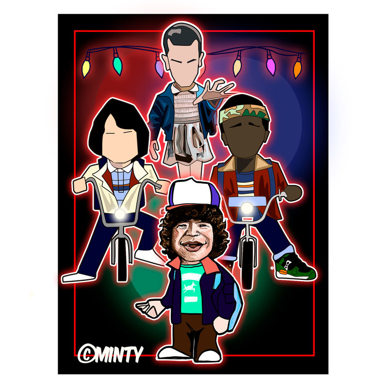 Stranger things Print.  - product images