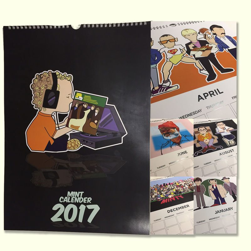 AGCM  2017 Calender - A3 - product images  of
