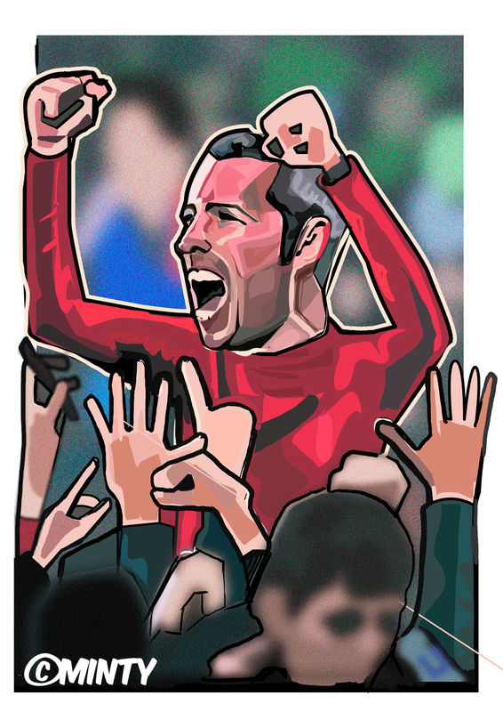 Cardiff City Mcnaughton Print.  - product images