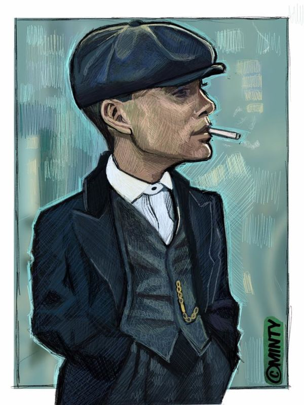 Peaky Blinders (tommy Shelby) Print.  - product images