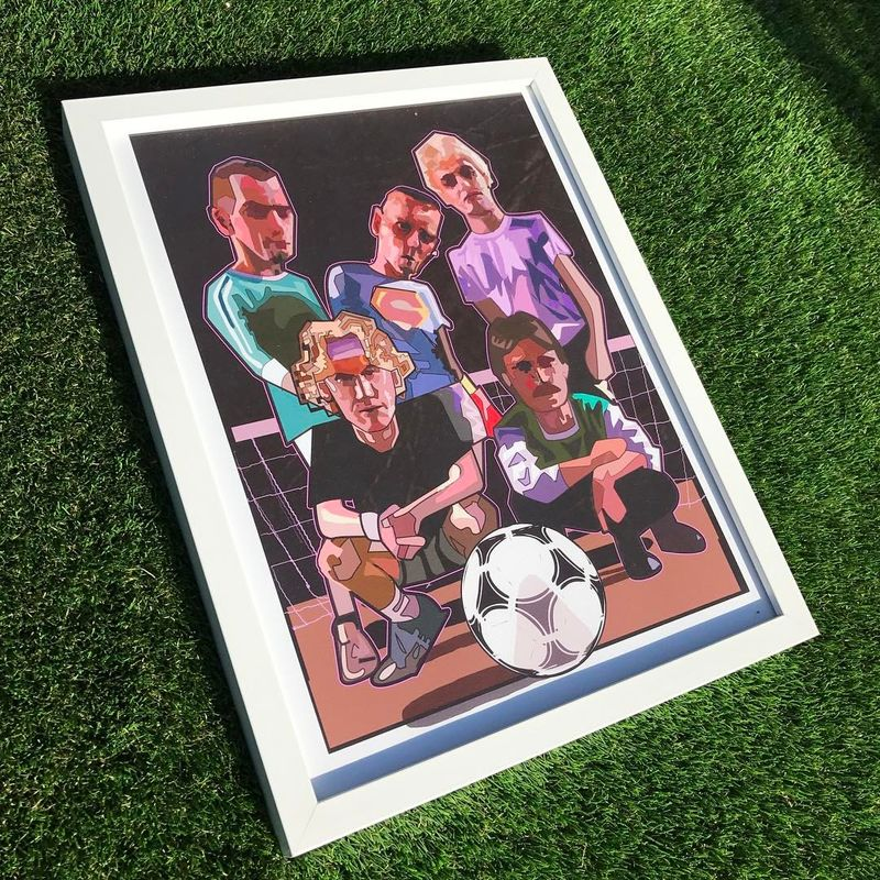 Trainspotting 5s Print.  - product images  of