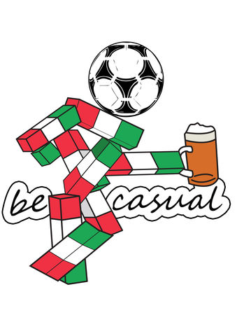Ciao,Be,Casual.,this is England , Italia 90 , football World Cup   , Football , football league , illustration , design , be casual