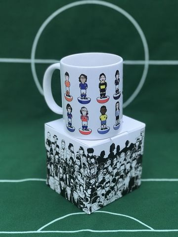 Players,2,Mint,Tea,MUG,gazza , paul gasgoigne , Tottenham , Lazio ,newcastle united , football ,artwork ,mug , team , tea mug.