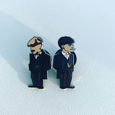 Peaky,Blinders.2,Pin,set,Liam Gallagher , LG , oasis , ,music , madchester , Stone island shadow project , football , wales , newcastle ,everton , leeds utd , illustration , design ,artwork ,pin badge