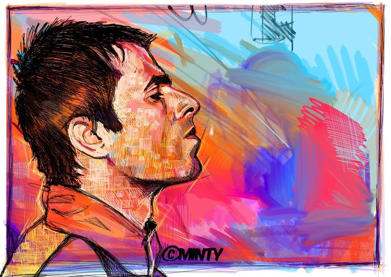 Liam Gallagher abstract....... - product images