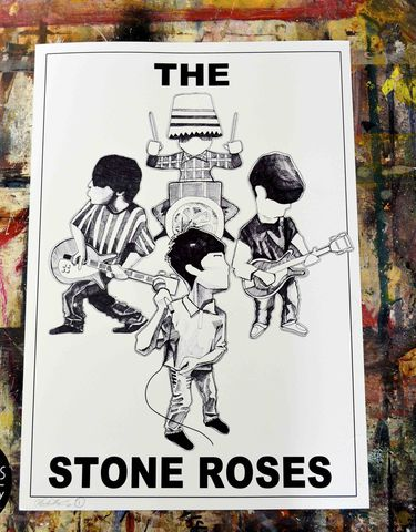 The,Stones,Roses,Pen,and,Ink.......,(print)