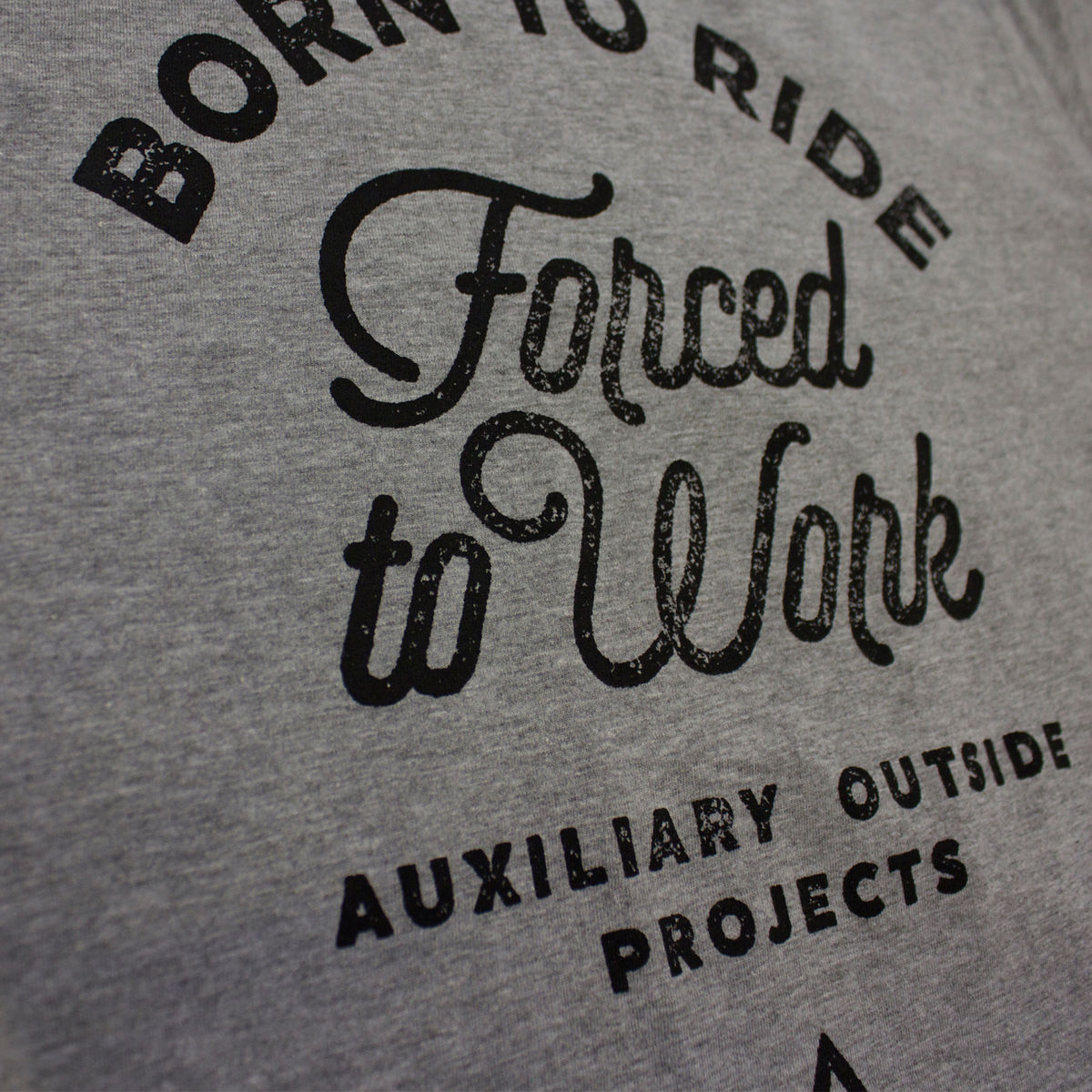 AOP - Born To Ride - Forced To Work - Men's T-shirt - product images  of