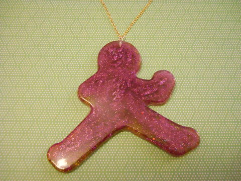 Mawashigeri,Necklace,martial arts harajuku kawaii roundhouse karate kick silhouette filled with pink and gold glitter on a necklace. silver gold necklace chain cute pendant