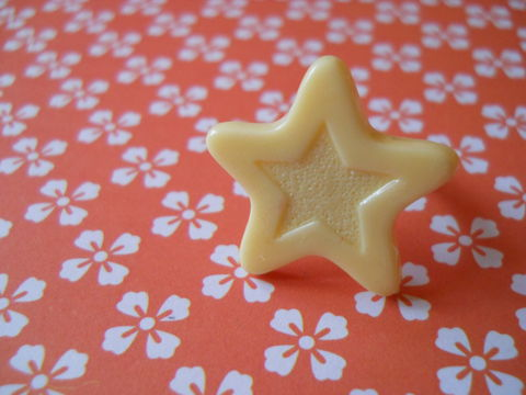 White,Chocolate,Star,Ring,harajuku kawaii white chocolate star silver ring jewellery
