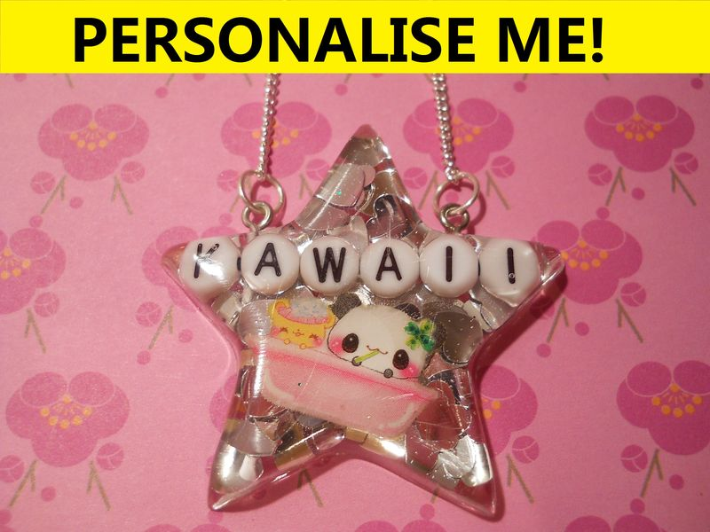 Personalised SuperStar Necklace - product images  of