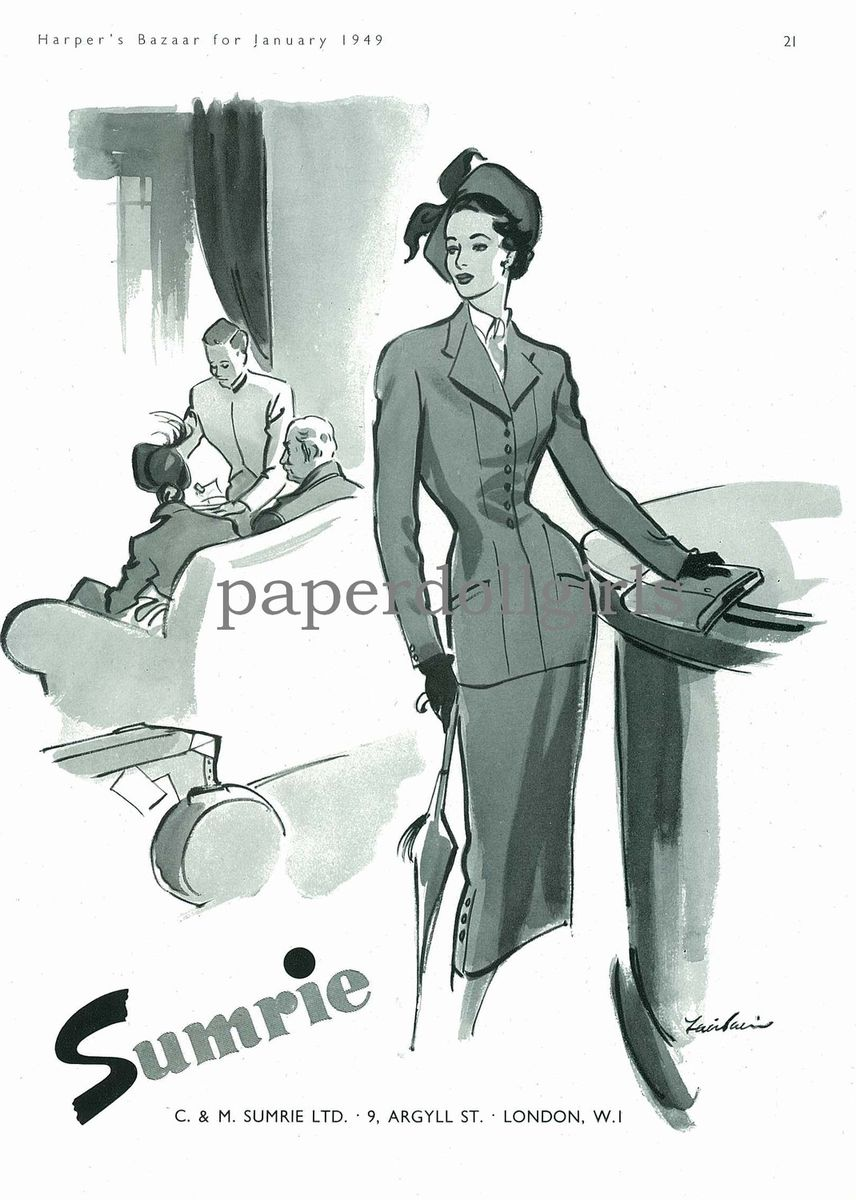 Fashion Couture Magazine Fashion Magazine ad Harpers