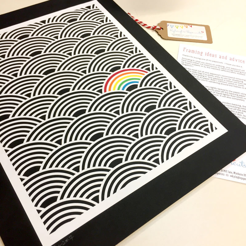 Colour Pop Rainbow Papercut - product image