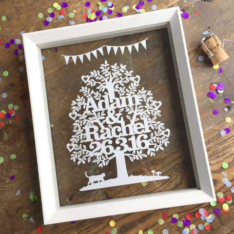Personalised,Wedding,or,Anniversary,Tree,Art,Mixed_Media,Kyleigh's_Papercuts,Kayleighs_Papercuts,wedding_gift,anniversary_gift,civil_ceremony_gift,love_tree,wedding_keepsake,personalised_wedding,custom_wedding_art,love_token_art,first_anniversary,personalized_wedding,valentines_gift